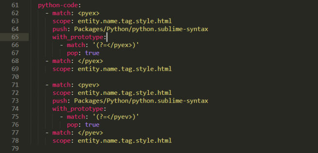 syntax-highlighting